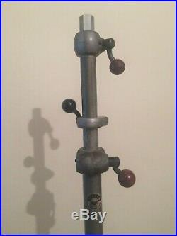 RARE ORIGINAL 40s STRAND ELECTRIC PATT THEATRE STUDIO LAMP STAND COMPLETE