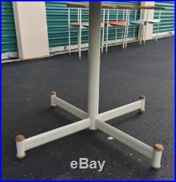 RARE Prototype Mid Century Heywood Wakefield Table & Chairs 5Pc Set Multi-Color