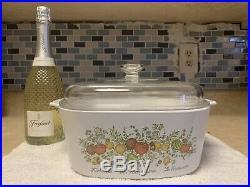 RARE Vintage Corning Ware Great Condition L'Echalote La Marjolain Le Romarin