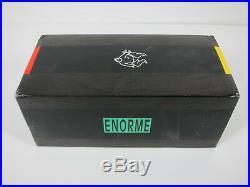 RARE Vintage Ettore Sottsass ENORME Telephone Polychrome UNUSED