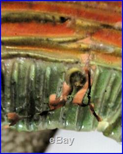 RARE Vintage MCM Pottery Horse Sculpture Signed Piemmepi Italy Bitossi-Era