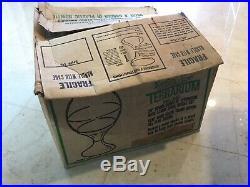RARE Vintage Mid Century Modern 20 TERRARIUM TIARA CASA NEW IN BOX #340