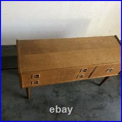 Rare 1950s Mid Century Modern Swedish IKEA Oak Sideboard Credenza Vintage MCM