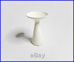 Rare 1951 Glazed Ceramic Compote Vase Sculpture by Malcolm Leland, Modernism