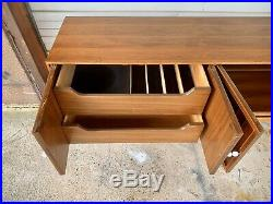 Rare 1959 THOMASVILLE Mid Century Modern Walnut Buffet / Original Condition