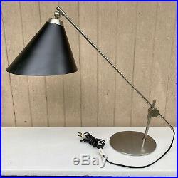 Rare 60s Vintage Danish Povl Dinesen Desk Lamp Mid Century Modern Wegner Juhl