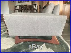 Rare Adrian Pearsall Gondola Sofa with Boomerang Legs