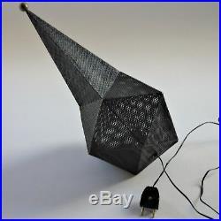 Rare Baghdad Lamp black Design Matthieu Mategot