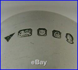 Rare Brian Fuller Sterling Silver Egg Cup 1977 Modernist Design