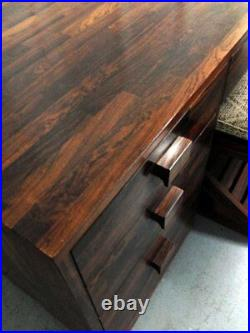 Rare Cocobolo Wood desk Don Shoemaker