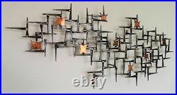 Rare Corey Ellis Brutalist Mid Century Wall Sculpture C Jere William Bowie