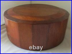 Rare Dansk Designs Jens Quistgaard Wood Palisader Salad Serving Bowl