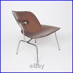 Rare Eames Evans Herman Miller 1950 Walnut LCM Lounge Chair Mid Century Modern