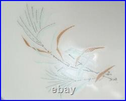 Rare & HTF Pyrex Family Flair Turquoise Sea Isle cream &sugar w lid