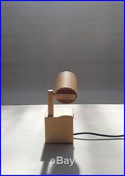 Rare Halo Click 1 Lamp by Ettore Sottsass Memphis Kuromata M. Thun Bedin era