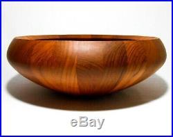 Rare Huge Jens Quistgaard Dansk Designs Denmark Vint 17 Staved Teak Salad Bowl