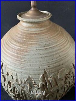Rare Jean Hazen Mid Century Studio Pottery Lamp