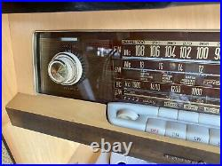 Rare Loewe Opta Mid Century Modern Stereo Console Made In Germany 32x41