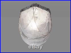 Rare MAZZEGA Murano Glass FLUSHMOUNT Ceiling Light by CARLO NASON