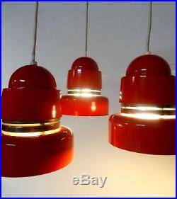 Rare MID Century 70s Space Age Ceiling Lamp Pop Art Pendant Lamp Vintage