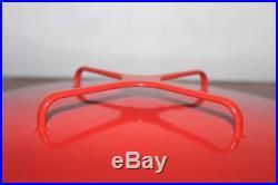 Rare MID Century Mod Dansk Kobenstyle France Ihq Lg 12 Red Covered Frying Pan