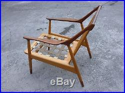 Rare MID Century Modern Danish Modern Jason Ringsted Rosewood & Teak Armchair -p