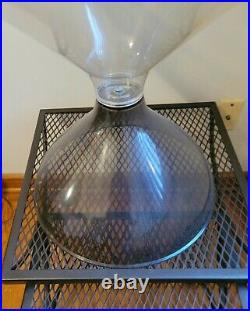 Rare MID Century Modern Terrarium Large Space Age Design Awesome Condition
