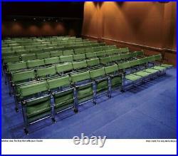 Rare Marcel Breuer Designed Theatre Chairs Andy Warhol Museum Bauhaus 1927-28