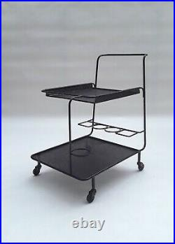 Rare Mathieu Mategot Gin Serving Trolley / Cart 1950s le corbusier prouve era