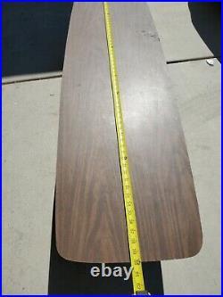 Rare Mid Century Danish Modern Surfboard coffee Table Lane Alta Vista No. 567211