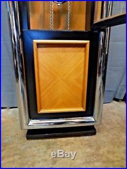 Rare Mid-Century Modern Howard Miller George Nelson Grandfather Clock Model 623
