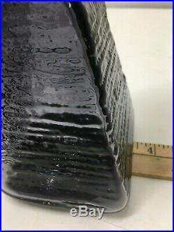 Rare Mid Century Modern Husted Amethyst Decantger. Blenko Art Glass