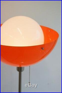 Rare Mid Century Modern Meblo Floor Lamp / Vintage 1970s Guzzini Design