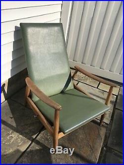 Rare Mid Century Modern Milo Baughman Recliner Lounge Chair