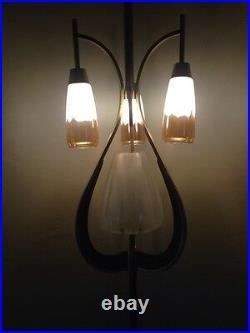 Rare Mid-Century Modern tension pole lamp