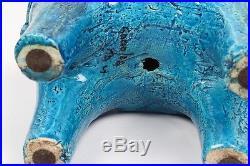 Rare Mid Century Rimini Blue Bitossi Ltd Ed Ceramic Horse -Glazed