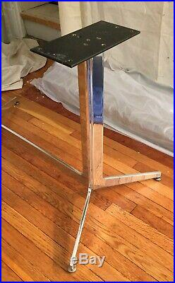 Rare Mid-Century Ward Bennett for Leopold Dining Conference Table Desk Base