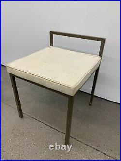 Rare Original Label Frederic Weinberg Co. Stool or Chair MCM 1950's Frederick