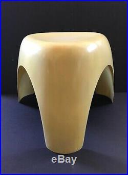 Rare Original Mid Century Modern Sori Yanagi Japanese Fiberglass Elephant Stool