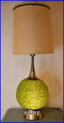 Rare PAIR of 60's Mid Century Lucite Spaghetti Lamps