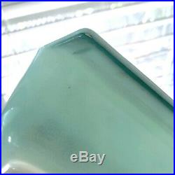 Rare PYREX ATOMIC STARBURST Aqua Blue Turquoise 575 Space Saver Cradle Lid HTF