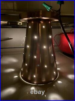 Rare Pair Vintage Ceiling Light Lamp Fixture mid-century sputnik eames atomic