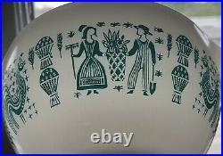Rare Pyrex Lady on the Left Reverse Print 441 Cinderella Butterprint Bowl