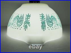Rare Pyrex REVERSE BUTTERPRINT LADY ON THE LEFT 441 Cinderella Bowl EXCELLENT