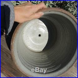 Rare Robert Maxwell Carved Pottery Planter MCM Pot Earthgender David Cressey 70s
