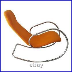 Rare Rocking Chair Thonet S 826 Design Ulrich Böhme Original Vintage