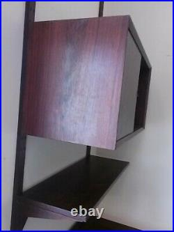 Rare Rosewood Cado Desk Unit by Royal Systems