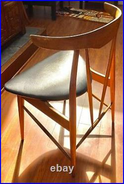 Rare Sculptural Horn Wood Dining Chair Danish Mid Century Juhl Prototype MCM