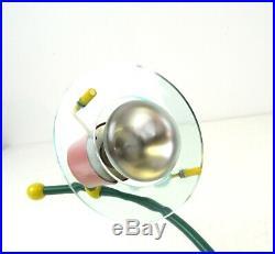 Rare Stunning Vintage MID Century Memphis Sottsass 2 Spot Ceiling Lamp 80s