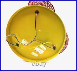 Rare Stunning Vintage MID Century Memphis Sottsass 3 Spot Ceiling Lamp 80s